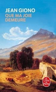 Ebooks gratuits pdfs téléchargements Que ma joie demeure MOBI iBook in French 9782253005223