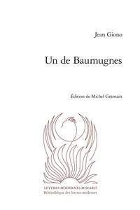 Jean Giono - Un de Baumugnes.