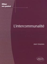 Jean Girardon - L'intercommunalité.
