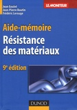 Jean Goulet et Jean-Pierre Boutin - Résistance des matériaux.