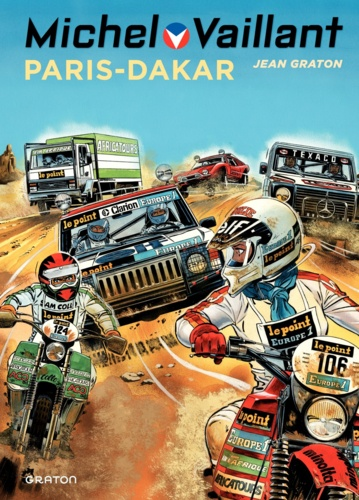 Michel Vaillant Tome 41 Paris-Dakar