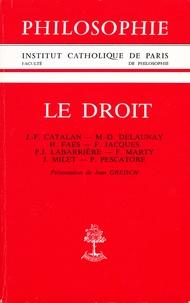 Jean Greisch - Le droit.