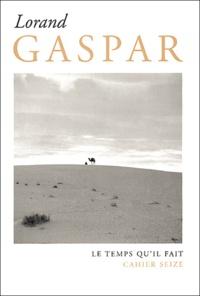 Jean Grosjean et Yves Leclair - Lorand Gaspar.
