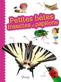 Jean Grosson et Anne Eydoux - Petites bêtes, insectes et papillons.