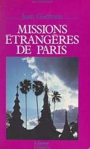 Jean Guennou et Jean-Claude Didelot - Missions étrangères de Paris.