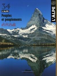 Jean Guibal et Jean-François Bergier - L'Alpe N° 34 : Peuples et peuplements.