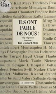 Jean Guichard-Meili - Ils ont parlé de nous !.