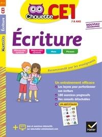 Jean Guion et Jeanine Guion - Ecriture CE1.