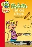 Jean Guion et Jeanine Guion - Ralette fait des crêpes.