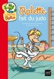 Jean Guion et Jeanine Guion - Ralette fait du judo.