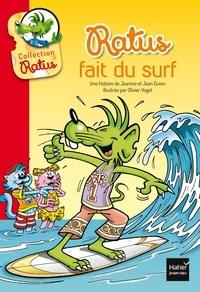 Jean Guion et Jeanine Guion - Ratus fait du surf.