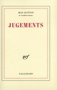 Jean Guitton - Jugements.