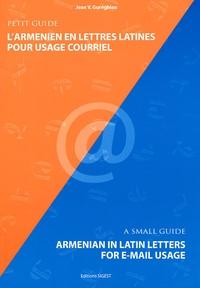 Jean Gureghian - L'Arménien en lettres latines pour usage courriel.