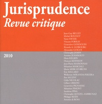 Jean-Guy Belley et Michel Boudot - Jurisprudence revue critique.