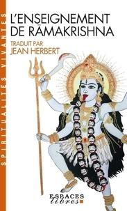 L'enseignement de Râmakrishna - Jean Herbert |