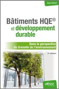 Histoiresdenlire.be Bâtiments HQE et développement durable - Dans la perspective du Grenelle de l'environnement Image