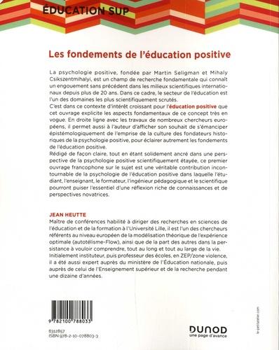 Les fondements de l'éducation positive. Perspective psychosociale et systémique de l'apprentissage