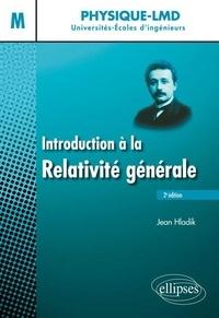 Jean Hladik - Introduction à la relativité générale Niveau M.