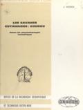 Jean Hoock - Les savanes guyanaises: Kourou - Essai de phytoécologie numérique.