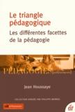 Jean Houssaye - Le triangle pédagogique - Les différentes facettes de la pédagogie.