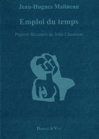 Jean-Hugues Malineau - Emploi du temps.