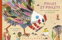 Jean-Hugues Malineau et Lucile Placin - Poules et poulets - Quatre douzaines de poèmes extra-frais.