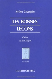 Jean Irigoin - Les Bonnes leçons.