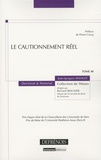 Jean-Jacques Ansault - Le cautionnement réel.