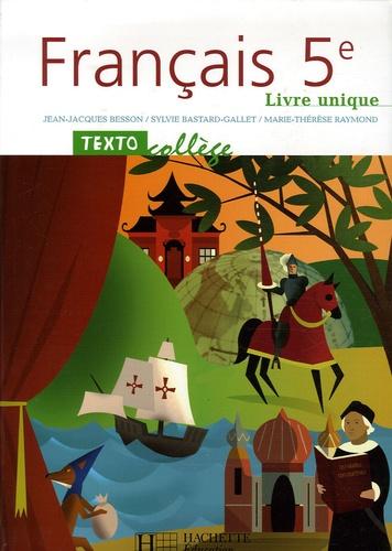 Francais 5e Livre Unique