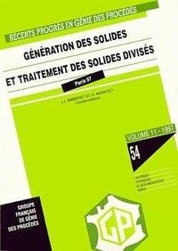 Jean-Jacques Bimbenet et Gilles Muratet - Génération des solides et traitement des solides divisés.