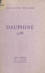 Jean-Jacques Chevallier et Marcel Sahut - Dauphiné, 1788 - Frontispice original de Marcel Sahut.