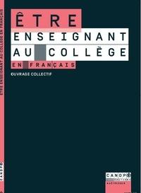 Jean-Jacques Claude et Régis Lefort - Etre enseignant au collège en français.