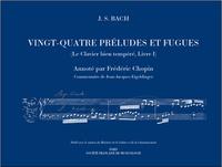 Jean-Jacques Eigeldinger - Vingt-Quatre Préludes et Fugues - Le Clavier bien tempéré, Livre I.