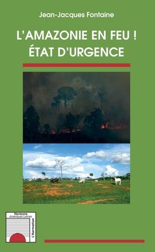 L'Amazonie en feu !. Etat d'urgence