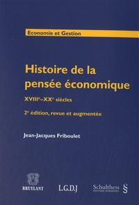 Histoiresdenlire.be Histoire de la pensée économique - XVIIIe-XXe siècles Image