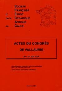 Jean-Jacques Hatt et Hugues Vertet - Actes du congrés de Vallauris - 20-23 mai 2004.