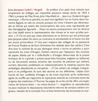 Jean-Jacques Lebel - Angeli.