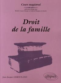 Jean-Jacques Lemouland - Droit de la famille - Couple et parenté.