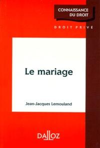 LE MARIAGE. Edition 1998.pdf