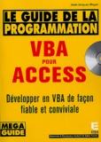 Jean-Jacques Meyer - VBA pour Access - Guide de la programmation. 1 Cédérom