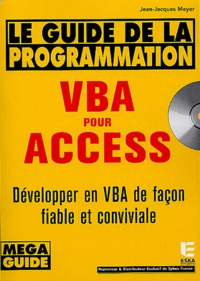 Jean-Jacques Meyer - VBA pour Access - Guide de la programmation. 1 Cédérom