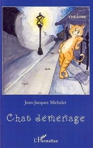 Jean-Jacques Michelet - Chat déménage.