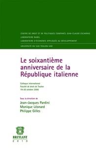 Jean-Jacques Pardini et Monique Léonard - Le soixantième anniversaire de la République italienne.