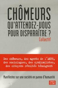 Jean-Jacques Reboux - Chômeurs, qu'attendez-vous pour disparaître ?.