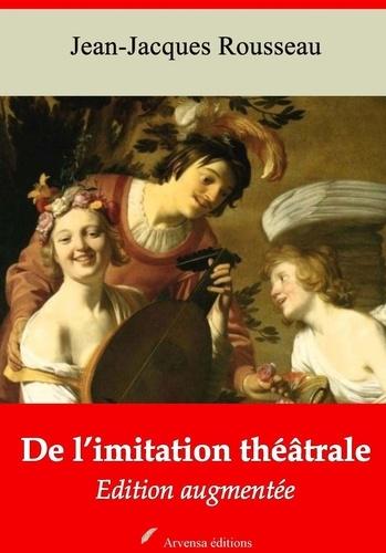 De l'imitation théâtrale – suivi d'annexes. Nouvelle édition 2019