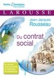 Jean-Jacques Rousseau - Du contrat social ou Principes du droit politique - Livre 1 et 2.
