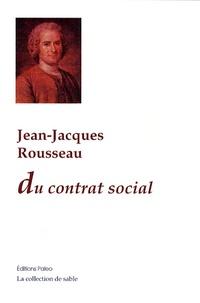 Du contrat social - Jean-Jacques Rousseau pdf epub
