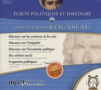 Jean-Jacques Rousseau - Ecrits politiques et discours. 1 CD audio MP3