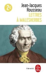 Lettres à Malesherbes - Jean-Jacques Rousseau |