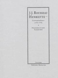 Openwetlab.it Rousseau - Henriette*** - Correspondance (1764-1770) Image